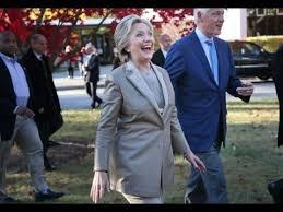 Clinton Estate Chappaqua New York Hillary Clinton Casts Her Ballot In Chappaqua New York 11 8 16
