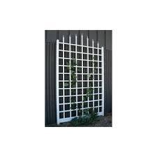White Pvc Trellis Amazon Com Dura Trel 11160 Country Garden Trellis Trellis