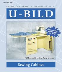 Sewing Machine Cabinet Plans by Sewing Furniture Plans U2013 Build It Yourself Sewing Furniture