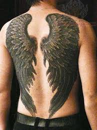 the 25 best wing tattoos on back ideas on wings