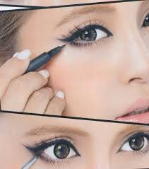 you cute anime eyes makeup tutorial middot only line the outer half of your lower lid
