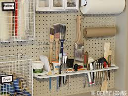 Storage Home by Organizing The Garage With Diy Pegboard Storage Wall Pegboard