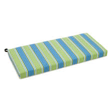 Outdoor Cushions Blazing Needles 41 X 19 In Outdoor Patio Bench Swing Cushion