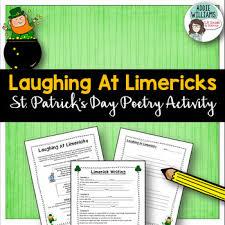 st patrick u0027s day limericks by addie williams teachers pay teachers