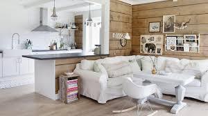cuisine ouverte sur salon une maison douillette pour affronter le froid nordique cuisine