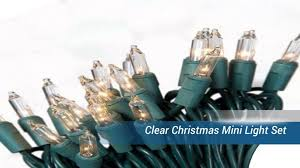 christmasini lights outdoor brown wire sylvania led