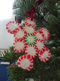 melted peppermint candy ornaments choices for children
