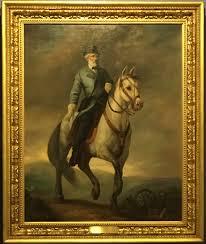 general robert e lee traveler his horse oil painting
