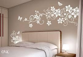 Floral Wall Stencils For Bedrooms Wall Stencil Designs Living Room U2013 Rift Decorators
