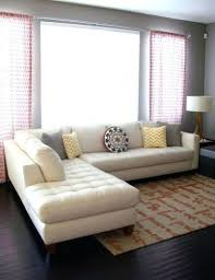 l shaped broken white leather sectional sofa with recliner and