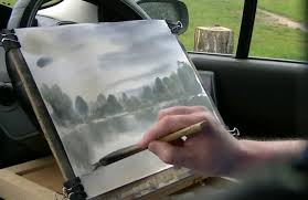 how to paint water reflections the art 123