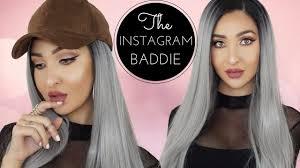 Powder Room Makeup Instagram Baddie Makeup Tutorial Powder Room D Wig Youtube