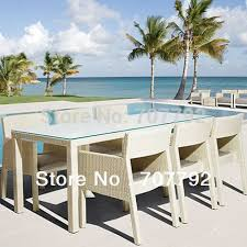 White Patio Dining Set by Online Get Cheap White Outdoor Dining Set Aliexpress Com