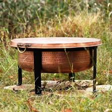 Copper Firepits Smith Hawken Copper Firepit Fireplaces Firepits Why