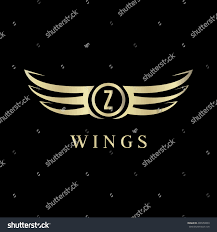 bentley logo vector z letter wings logo vector template stock vector 496550809