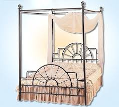 Iron Canopy Bed Frame Bed Frame Wrought Iron Canopy Bed Frames Bed Frames