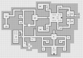 dungeon floor plans map der dungeon level 3 almostoldschool retro rpg blog