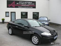 2008 renault megane ii cabriolet dynamique full car photo and specs