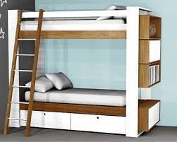 Plans For Building A Loft Bed With Desk by Loft Bed With Storage Plans Storage Decorations