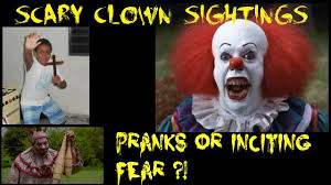 Scary Clown Meme - scary clown sightings pranks or inciting fear overwatch 06