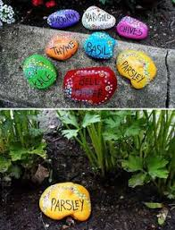 Garden Craft Terra Cotta Marker - 13 creative diy garden marker crafts garden ideas markers and rock