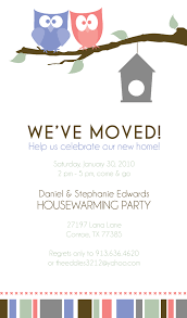 housewarming party invites free template gallery party