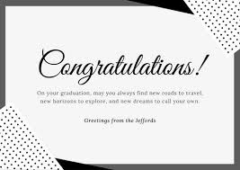 congratulations on new card congratulations card templates canva