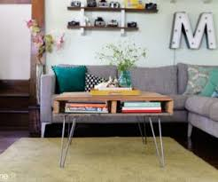 Hairpin Legs Coffee Table How To Make A Coffee Table With Hairpin Legs
