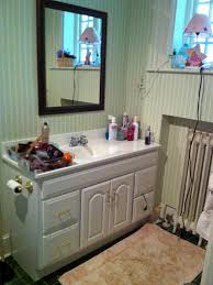 girly glam bathroom update naomi stein hgtv
