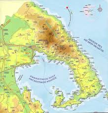 volos map pelion tourist map agriaacute greece mappery