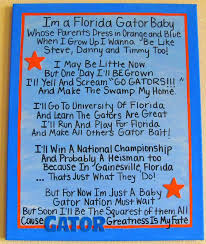 florida gator fan gift ideas 17 best images about baby gator themes on pinterest themed baby