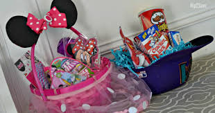 minnie mouse easter basket ideas six easy creative easter basket ideas hip2save