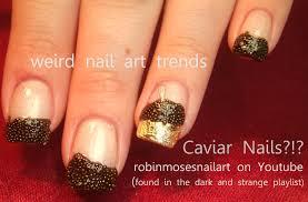 robin moses nail art caviar nails caviar nail technique caviar