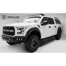 2017 f150 light bar zroadz z335662 kit f 150 raptor 52 led light bar and front roof
