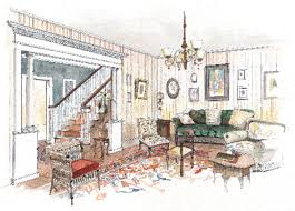 colonial revival interior design old house restoration products