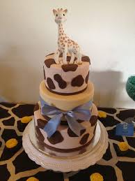 giraffe baby shower ideas baby giraffe shower cake cakes we ve made sweet treats more