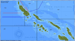 Solomon Islands Map The Home Of Submarine Squadron 3a