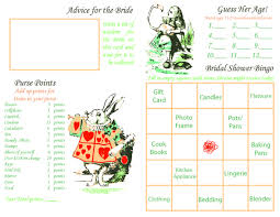 photo bridal shower game cards image