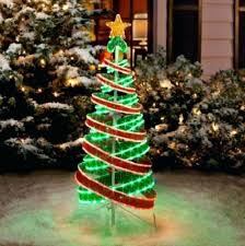 green spiral lighted tree incredible ideas lighted spiral trees artificial tree small