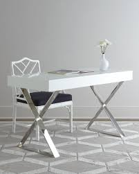 Sleek Modern Desk by The Channing Desk By Jonathan Adler For Horchow