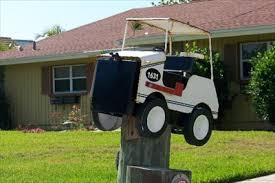 themed mailbox golf cart mailbox themed mailboxes on waymarking