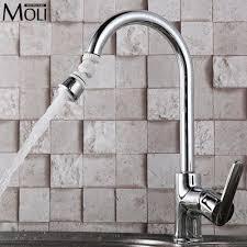 Water Saving Kitchen Faucet Popular Kitchen Faucet Swivel Head Buy Cheap Kitchen Faucet Swivel