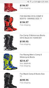 fox comp 5 motocross boots alpinestars the true story of going off the deep end moto