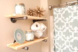 Diy Shelves For Bathroom by Diy Rustic Industrial Bathroom Shelves Sugar Maple Notes