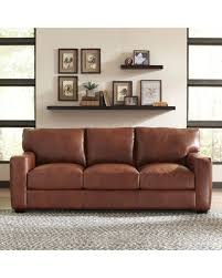 Upholstery Encino Fall Sale Pratt Leather Sofa Upholstery Steamboat Charcoal