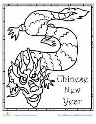 chinese new year colouring pages awesome websites chinese new year