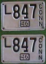 Ct Vanity License Plate Lookup Connecticut License Plate Ebay