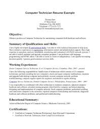 Sample It Resume by 100 Audio Visual Technician Resume Sample Unforgettable