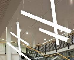 led linear tube lights 1000mm 1200mm 1500mm linear hanging led tube pendant light fixtures