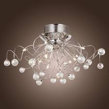 brushed nickel chandelier with crystals decoration large contemporary crystal chandeliers large round